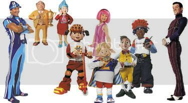lazy town characters names Images   Frompo   1