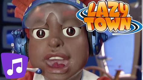 Lazy Town en Español | Chico Cibernético Video Musical ...