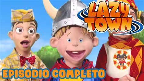 Lazy Town en Español | Chico nuevo en la ciudad | Dibujos ...