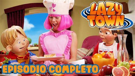 Lazy Town en Español   Desayuno en casa de Stephanie ...