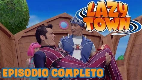Lazy Town en Español   Héroe para el día   Dibujos ...