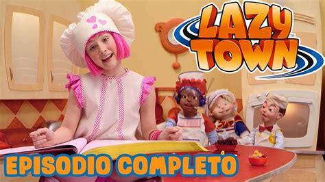 Lazy Town en Español   Señorita Roberta   Dibujos Animados ...