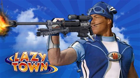 LAZY TOWN FILTHY DEATHMATCH   YouTube