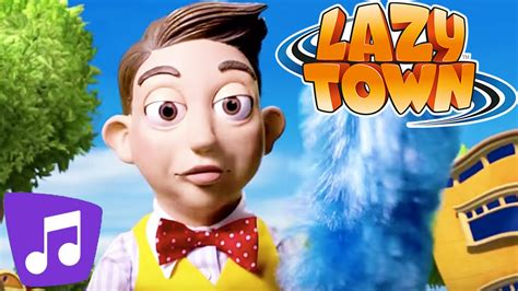 Lazy Town I Clean Up Music Video   YouTube