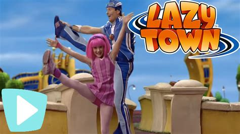 Lazy Town I Dance   YouTube