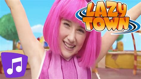 Lazy Town I Energy Music Video   YouTube