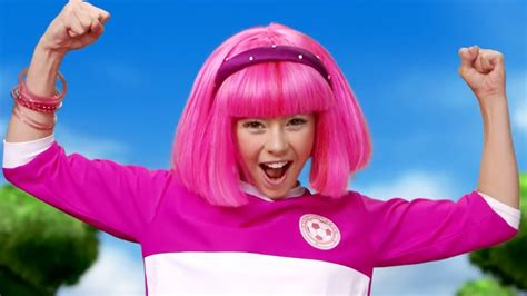 Lazy Town I Stephanie sings Season 3 Classic Lazy Cup All ...