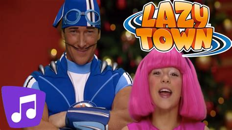 Lazy Town | Jolly Holiday Music Video   YouTube