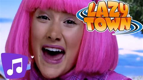 Lazy Town | Lazy Town Music Video Mega Mix!   YouTube