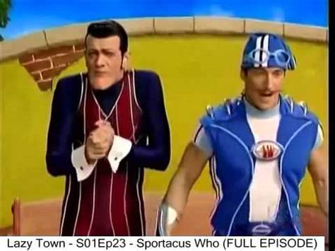 Lazy Town   S01Ep23   Sportacus Who  FULL EPISODE    YouTube