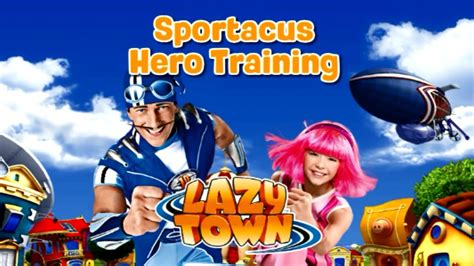 Lazy Town Sportacus Hero Training Game for Kids Full HD ...