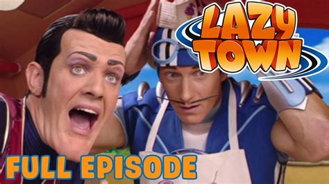 Lazy Town | Sportacus Who | Full Episode   YouTube