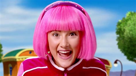 Lazy Town Stephanie Sings and Plays New Games Everyday ...