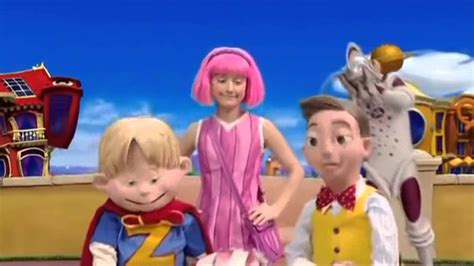 LazyTown Latino Capitulo 34   El Extraterreste HD   YouTube