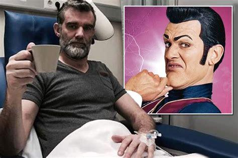 LazyTown s Robbie Rotten actor Stefan Karl Stefansson ...