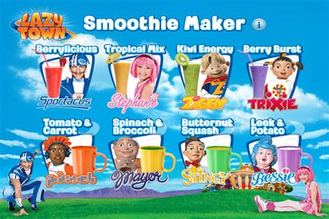LazyTown Smoothie Maker for iOS   Free download and ...