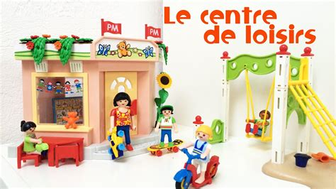 Le centre de Loisirs Playmobil   5634 par Bianca   YouTube