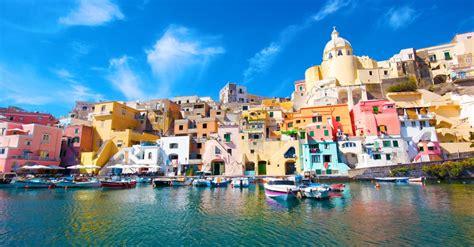Le isole del Golfo di Napoli: Procida, Capri, Ischia ...