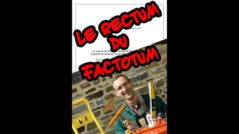Le rectum du factotum   comptine pour enfants & néo ...