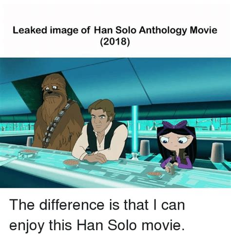 Leaked Image of Han Solo Anthology Movie 2018 the ...
