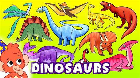 Learn Dinosaurs for kids | Learning Dinosaur Names for ...