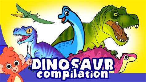Learn Dinosaurs for Kids | Scary Dinosaur movie ...