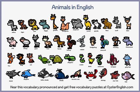 Learn English Animals Vocabulary