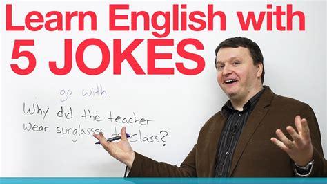 Learn English with 5 Jokes   YouTube