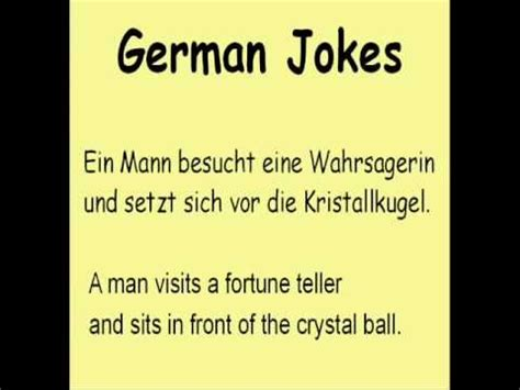 Learn German with Jokes :     YouTube