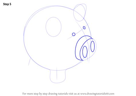 Learn How to Draw a Piggy Bank  Everyday Objects  Step by ...
