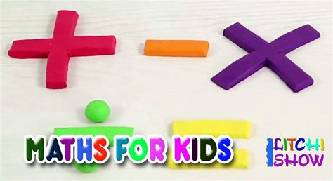 Learn Math for Kids | Basic Math For Toddlers | Elementary ...