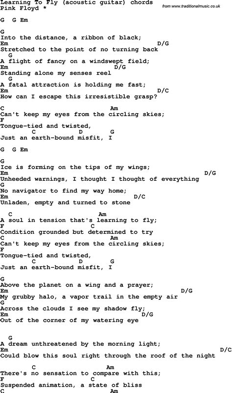 Learning To Fly Lyric Quotes. QuotesGram