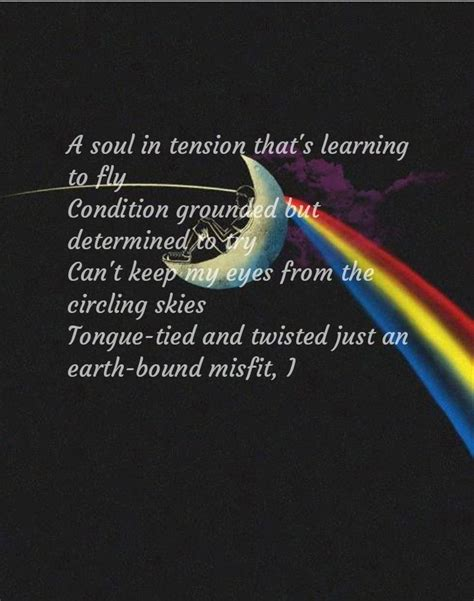 Learning to fly Pink Floyd | Pink floyd quotes, Pink floyd ...