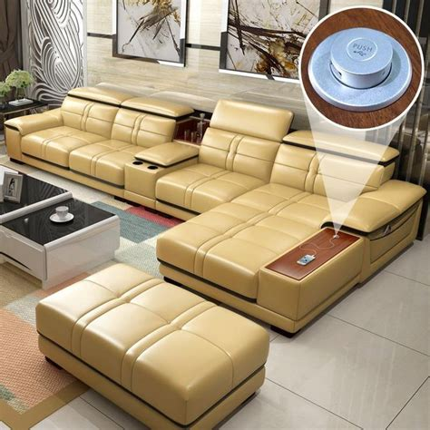 Leather Furniture Mobilya De Sala Mueble Sofa – fashion in ...