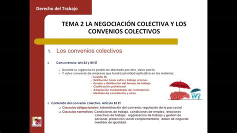 Lec016 La negociación colectiva y los convenios colectivos ...