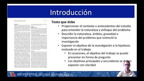 Lec3.2 Como escribir un articulo científico  umh2694 2014 ...