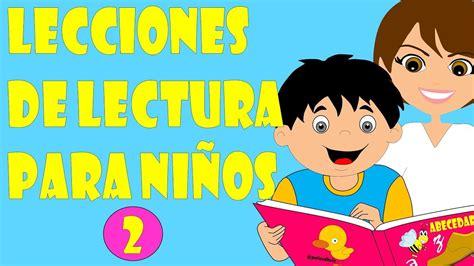 Lecciones de Lectura para niños   Método para enseñar a ...