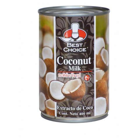 Leche De Coco BEST CHOICE 400 ml.
