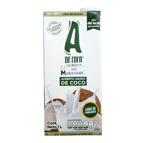 Leche de coco sin azúcar 1 Lt. | Bazar Verde