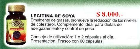 LECITINA DE SOYA 60 Capsulas   soyamilk