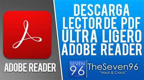 Lector de PDF Ultra Ligero  Adobe Reader Lite  Gratis en ...