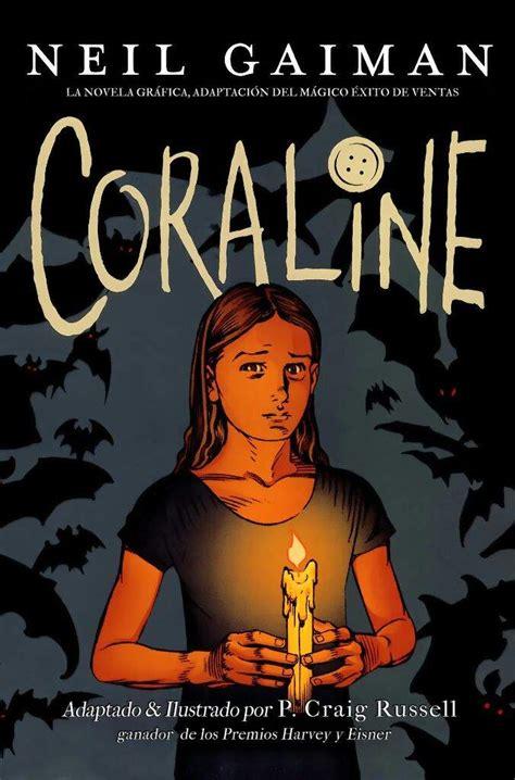 Lectura actual Coraline  Novela gráfica  + PDF | • Libros ...