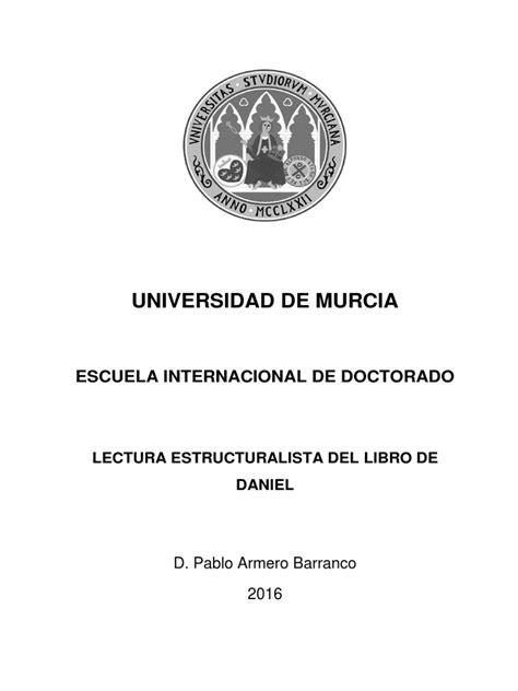 Lectura estructuralista del libro de Daniel.pdf   Biblia ...