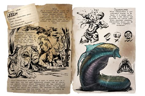 Leech   Official ARK: Survival Evolved Wiki