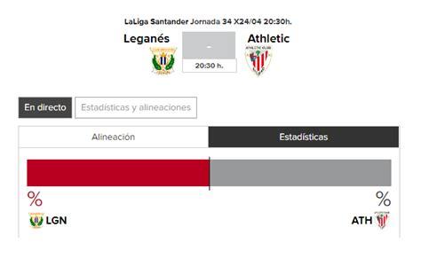 Leganes   Athletic: horario y TV del partido de hoy ...
