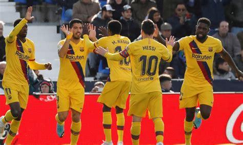 Leganés   Barcelona: Goles, resumen y resultado, en directo