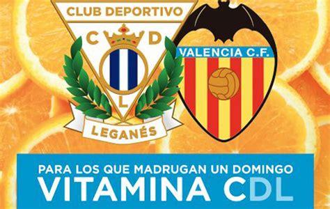 Leganés: Butarque recibirá al Valencia con vitaminas ...