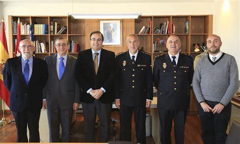 LEGANÉS / El nuevo comisario garantiza la colaboración con ...