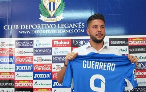 Leganés: Guerrero:  Quiero dejar al Lega muchos años en ...