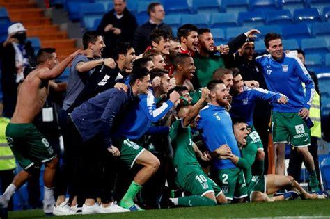 Leganés hace historia y empuja al Real Madrid al abismo